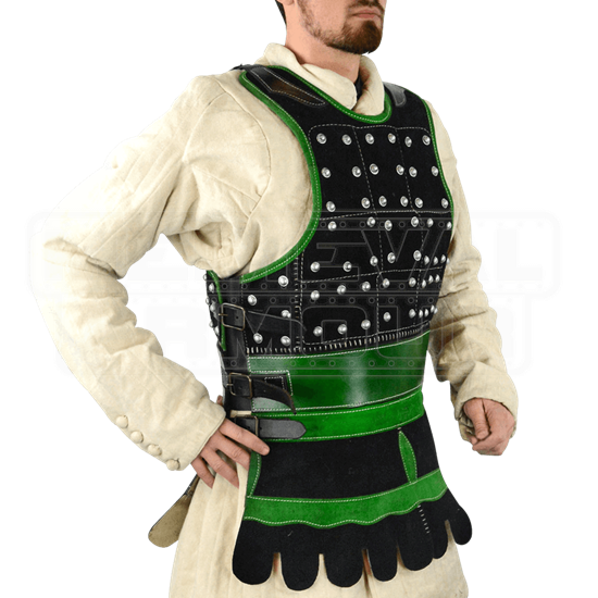 Riveted Leather Brigandine Armor