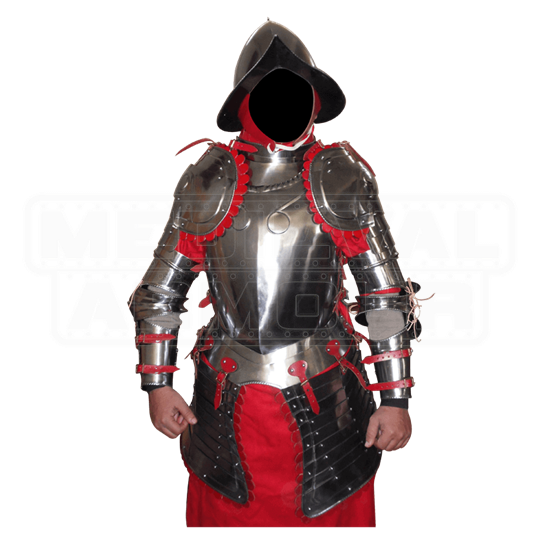 Medieval Infantry Half-Plate Armour