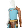 Gladiator Leather Segmentata Left Arm Guard