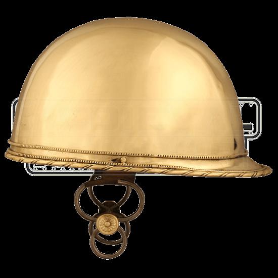 Caesarian Brass Coolus Helmet