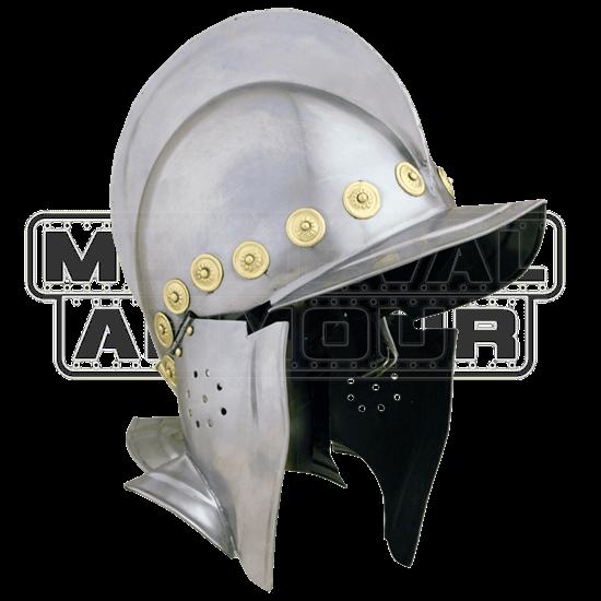 Open Faced Burgonet Helm