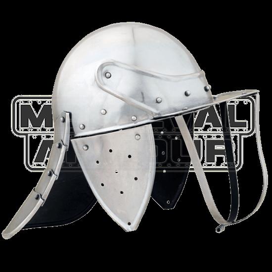 Lobster-Tailed Pot Helmet