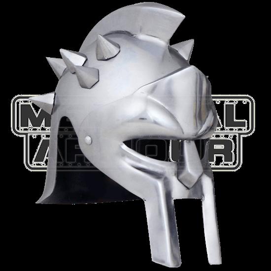 Spiked Crest Gladiator Helmet