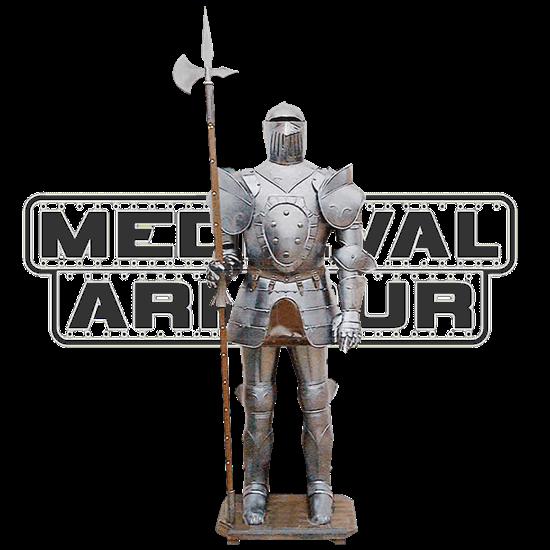 Medieval Suit Of Armor Display