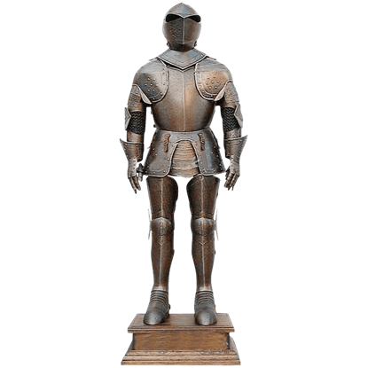 17th Century War Suit Of Armor