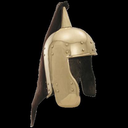 1st Century Brass Pony Tail Helm