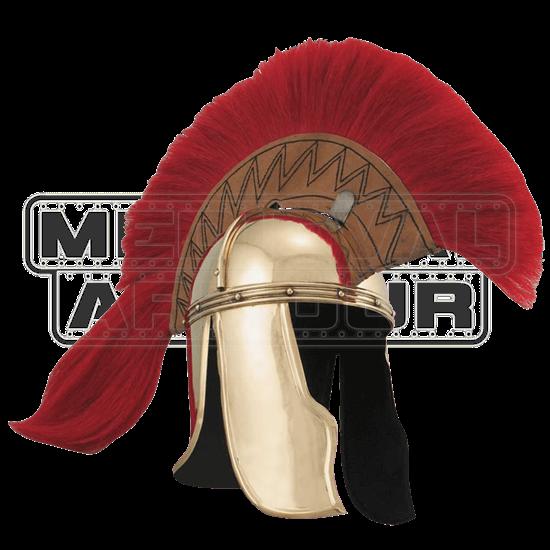 Brass Roman Officers Helm