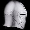 14th Century Sugar Loaf Visored Helmet