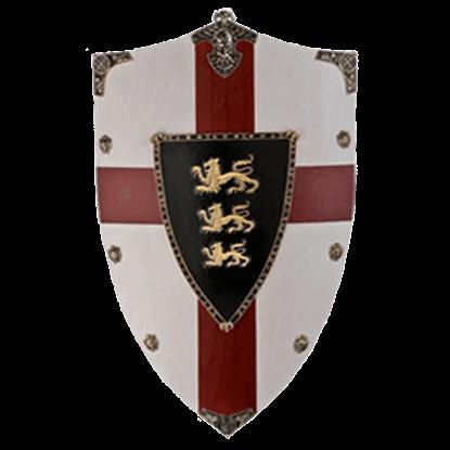 Richard the Lion Heart Wooden Shield