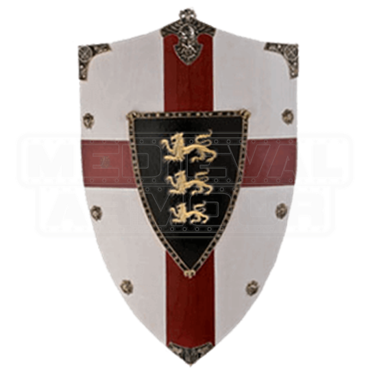 Richard the Lion Heart Wooden Shield