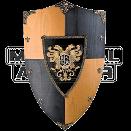 Toledo Eagle Wooden Shield