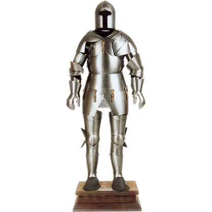 Milanese Full Suit of Armor