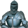 Knights Jousting Full Suit of Armor
