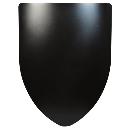 Plain Steel Battle Shield