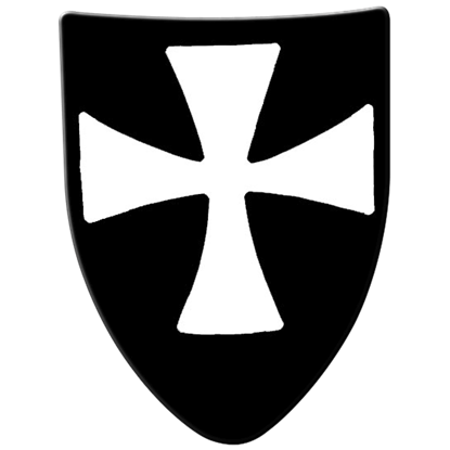 Hospitaller Steel Battle Shield