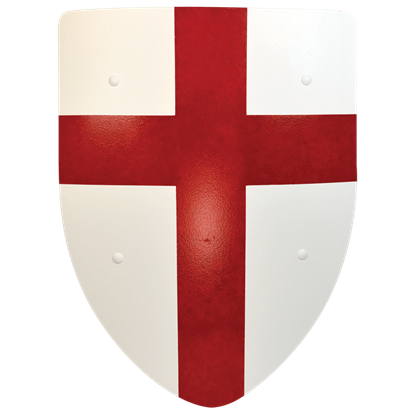 Crusader Steel Battle Shield