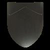 Fleur de Lis Steel Battle Shield