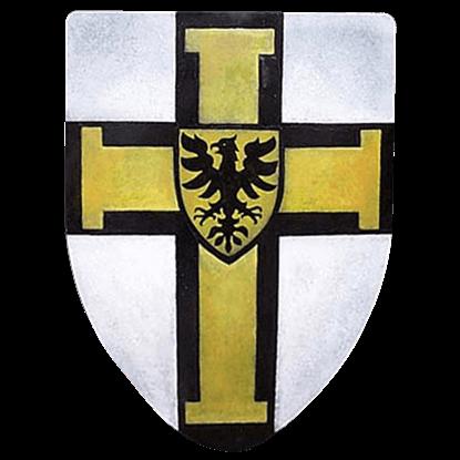 Teutonic Knights Steel Battle Shield