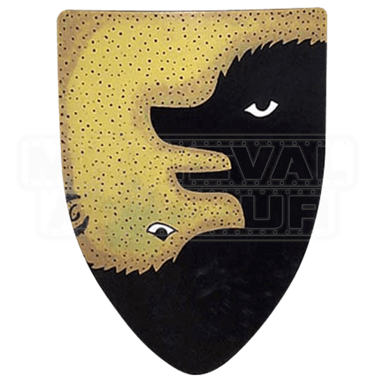 Two Bears Steel Battle Shield