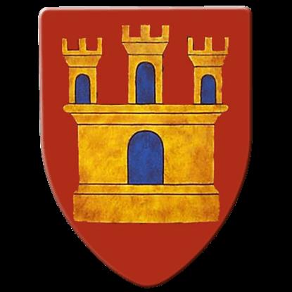 Medieval Castle Steel Battle Shield