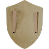 Plain Wooden Battle Shield