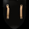 Griffin on Blue Steel Battle Shield