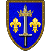 Joan of Arc Steel Battle Shield