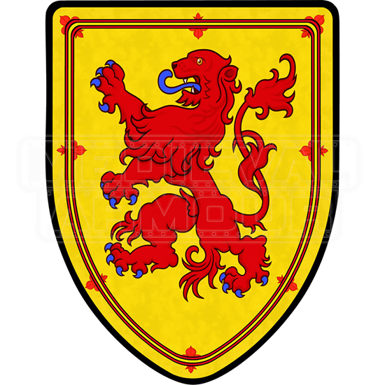 Scotland Lion Steel Battle Shield