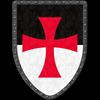 Templar Knight Steel Battle Shield