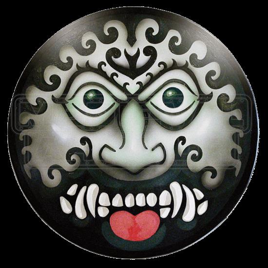 Wooden Greek Barbarian Face Shield