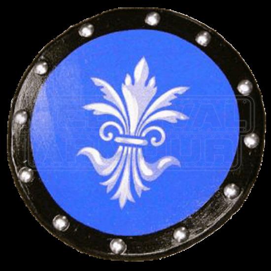 Wooden Fleur De Lis Shield