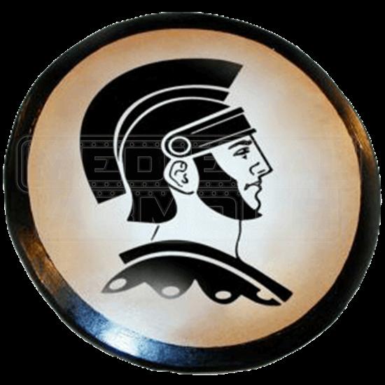 Wooden Spartan Warrior Shield