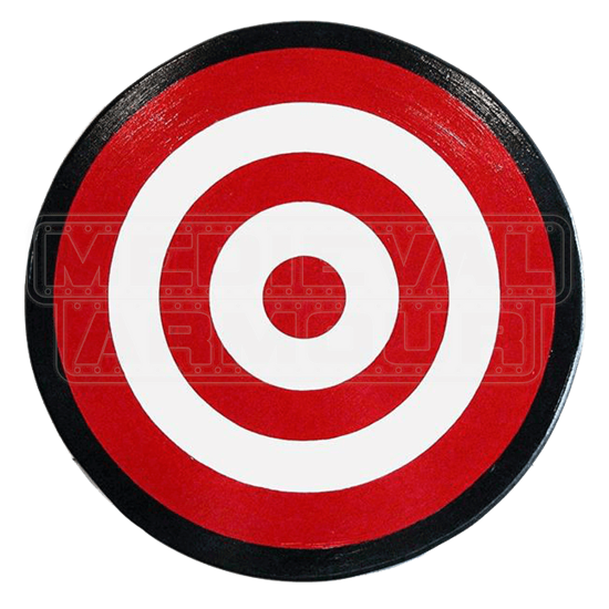 Wooden Archers Bulls Eye Shield
