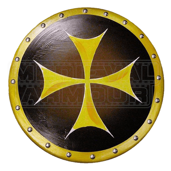 Wooden Knights Cross Shield