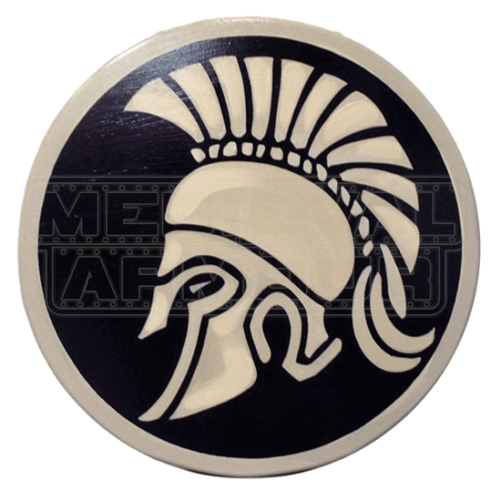 Wooden Trojan Shield
