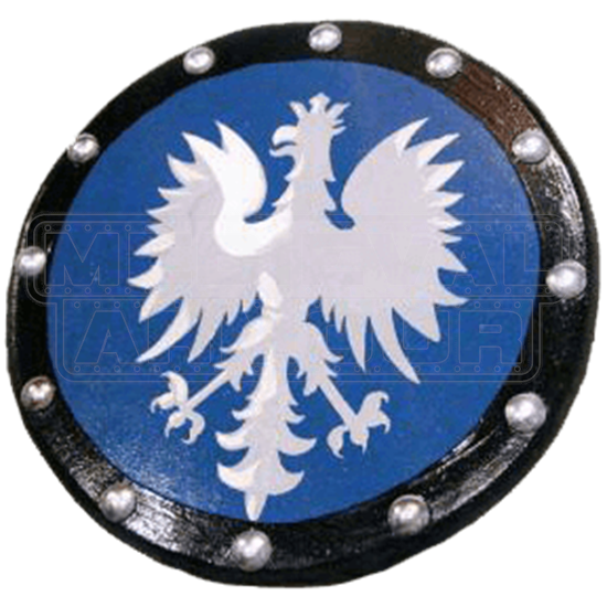 Wooden Royal Eagle Buckler Shield