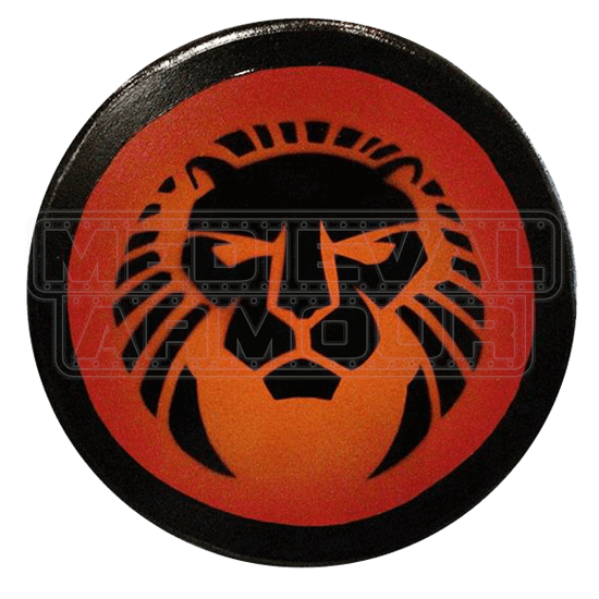 Wooden Lion Buckler Shield