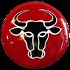 Steel Greek Bull Shield