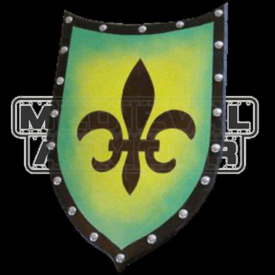 Wooden Fleur De Lis Heater Shield