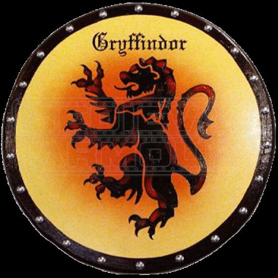 Wooden Gryffindor House Shield