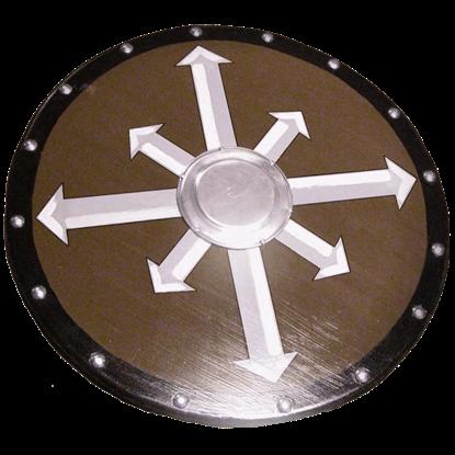 Wooden Viking Chaos Cross Shield