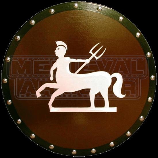 Wooden Athenian Centaur Shield