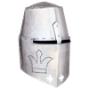 Royal Over Bearer Great Helm