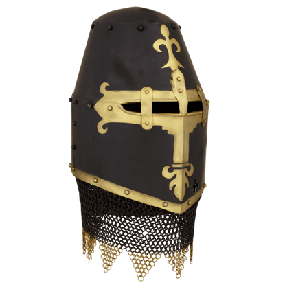 14th Century Dark Knight Helm