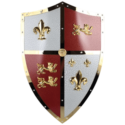 English Royal Lion Shield