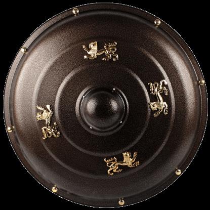 Heraldic Lion Buckler Shield
