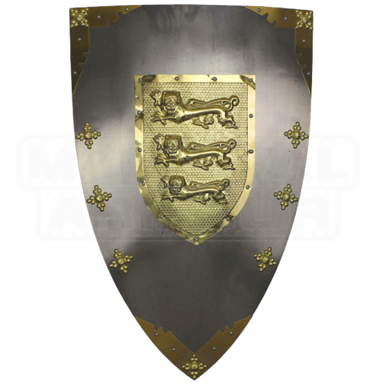 Royal Arms of England Lionheart Shield