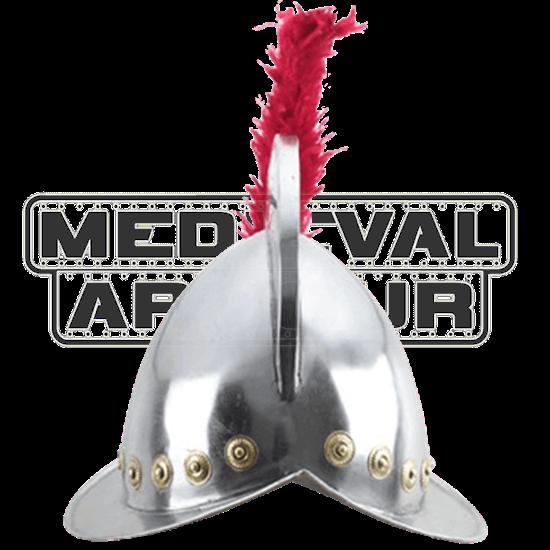 Conquistador Helmet with Plume