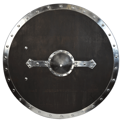 Round Wooden Viking Shield