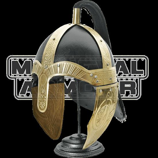 Ornate Viking Horseman Helm